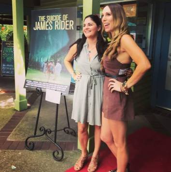 Star, Kelly Diegnan and Associate Producer/Art Director, Erin Laine